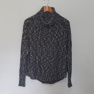 Lucky brand cowl neck sweater